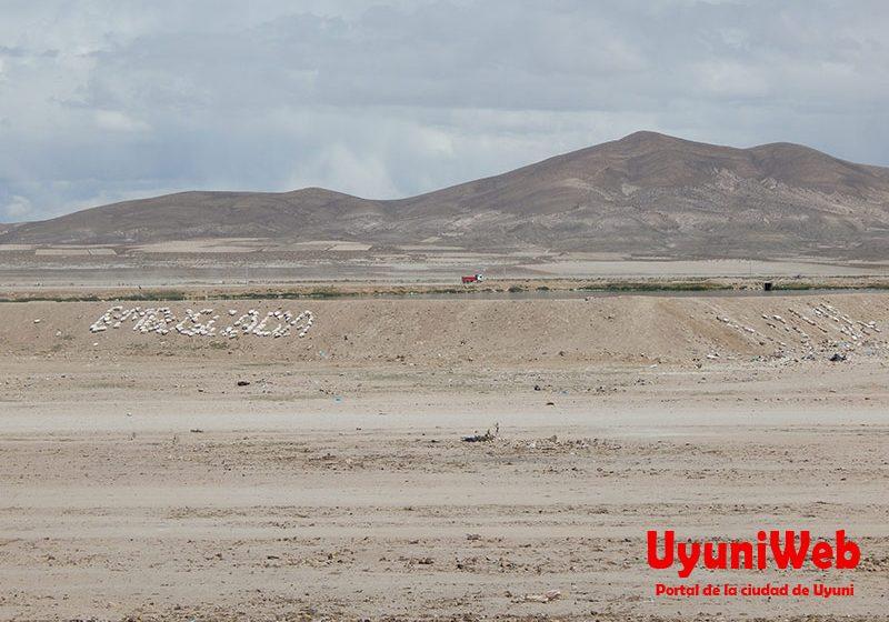 Aspecto geográfico de Uyuni