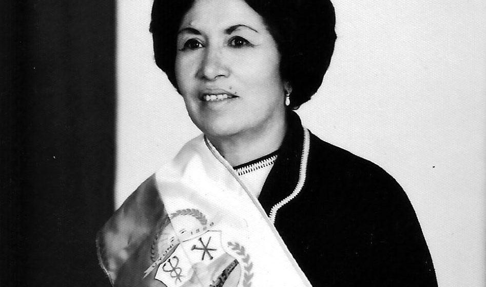 Dña. Aurora Juarez de Oporto, alcaldesa de Uyuni