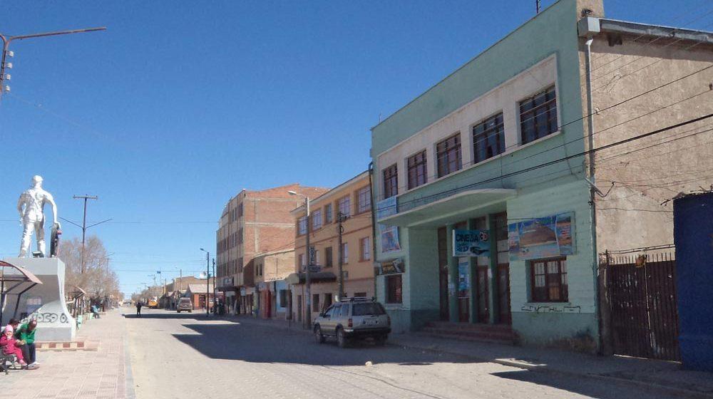 ¡El histórico cine ferroviario de Uyuni!