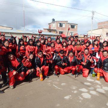Clan 79, fraternidad ganadora del carnaval de Uyuni 2017