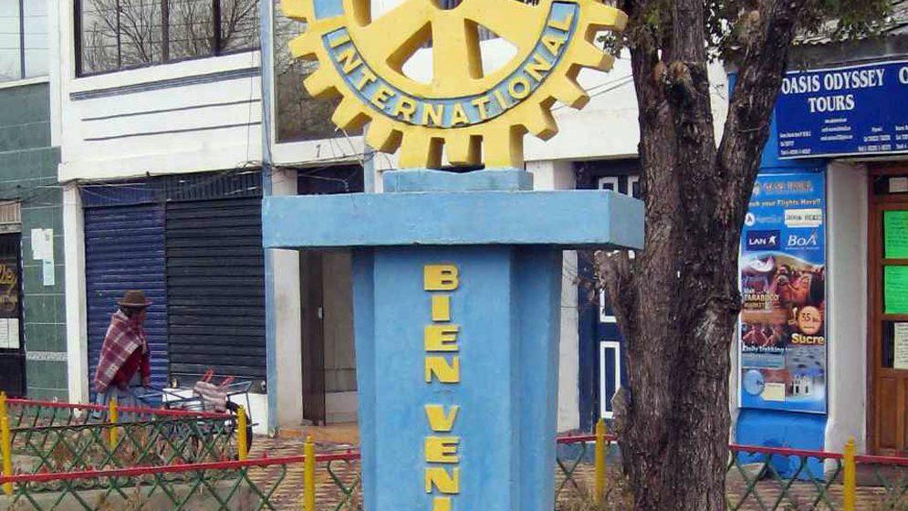 Rotary Club Uyuni, una mano solidaria
