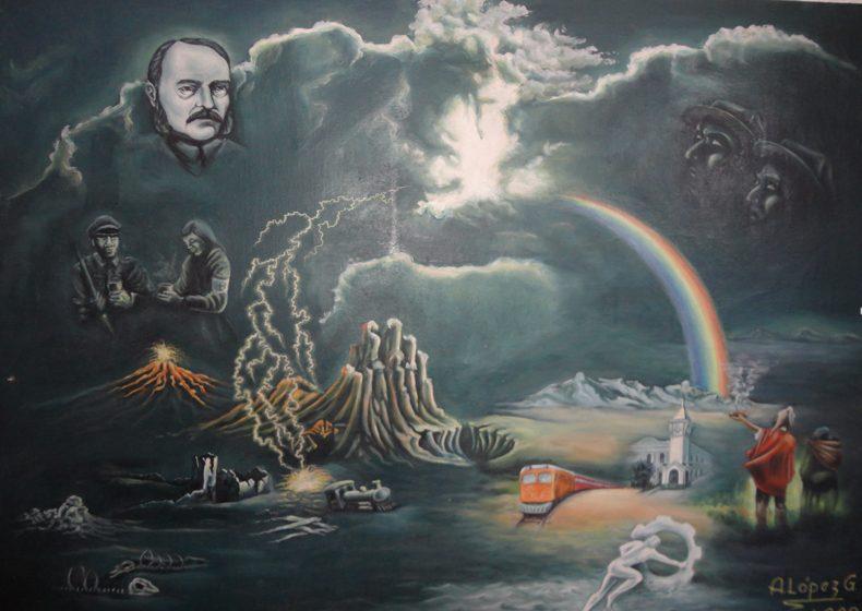 La pintura que  presagió  el presente de Uyuni